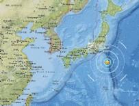 TSUNAMI - Japonya'nın Izu Adaları'nda 6.0 büyüklüğünde deprem