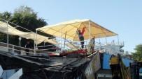 ZABITA MEMURU - Kaçak Yapı Yıkımında Zabıtanın Türk Bayrağı Hassasiyeti
