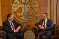 MUSTAFA ŞAHİN - Kamu Başdenetçisi Malkoç'tan Rektör Şahin'e Ziyaret