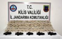 Kilis'te Captagon Hap İle Tabanca Operasyonu