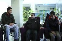 BAYRAKTAROĞLU - Korgeneral Bayraktaroğlu, Darp Edilen Gazileri Ziyaret Etti