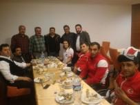 NENE HATUN - Nene Hatun Spor Kulübü Yöneticileri Bedensel Engelli Sporcularla Bir Araya Geldi