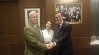 ŞIŞLI BELEDIYE BAŞKANı - Nikahlarını Kıydığı Çiftten Başkan İnönü'ye Teşekkür Ziyareti