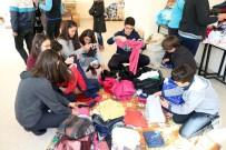 Öğrenciler, Sığınmacı Ailelere Yardımda Bulundu