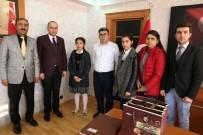 MEHMET NURİ ÇETİN - Öğrencilerden Kaymakam Çetin'e Teşekkür Ziyareti