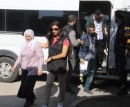 KORSAN GÖSTERİ - PKK Operasyonunda Gözaltına Alınan 7 Kişi Adli Kontrol Şartıyla Serbest Bırakıldı