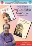 HANEDAN - Prof. Dr. Hakkı Önkal 11 Kasım'da TÜYAP Kitap Fuarı'nda