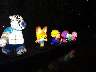 Seul Fener Festivali'nde renkli görüntüler
