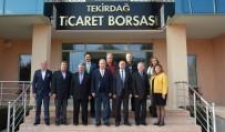 LABORATUVAR - Tekirdağ Ticaret Borsası, İSTİB Heyetini Ağırladı