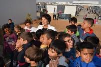 HÜLYA KOÇYİĞİT - Ünlü Oyuncular Suriyeli Mültecilere Konuk Oldu