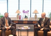 ERSIN YAZıCı - Vali Yazıcı'dan Başkan Kafaoğlu'na Hayırlı Olsun Ziyareti