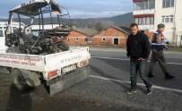 ATV İle Minibüs Çarpıştı Açıklaması 1 Yaralı