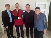 Başkan Bakıcı Hastaları Evlerinde Ziyaret Etti, Şifa Diledi