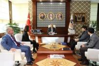 HÜSEYIN CAN - BM'den Başkan Baran'a Teşekkür Ziyareti