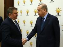 Çaturoğlu, Zonguldak'ın Sıkıntılarını Cumhurbaşkanı Erdoğan'a Anlattı