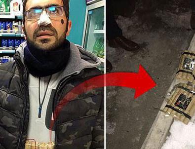 Bomba süsü verilmiş düzenekle yakalandı! 'Ben YouTuber'im' dedi...