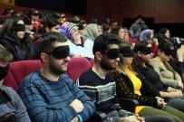 BAĞCıLAR BELEDIYESI - Görme Engellileri Anlayabilmek İçin Filmi Gözlerinde Bantlarla İzlediler