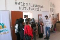 BEDEN DILI - İstanbul'dan Gelen Öğrenciler Niğde'de Kütüphane Kurdu
