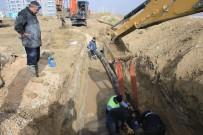 Karaman'da Yağmur Suyu Biriken Bölgelerde Altyapı Çalışmaları Tamamladı