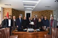 MURAT AYDıN - Kocaeli ASKF Başkanı Aydın'dan Başkan Üzülmez'e Ziyaret