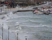 KUZEY EGE - Kuzey Ege'de fırtına