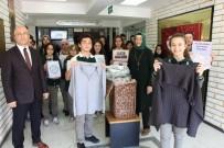 AHMET EREN - Liseliler İhtiyaç Sahipleri İçin Kışlık Kıyafet Topladı