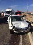 ACıRLı - Midyat'ta Trafik Kazası Açıklaması 4 Yaralı