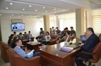 Öğrencilerinden Başkan Tekin'e Ziyaret