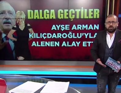 Ömür Varol canlı yayında fena bombaladı