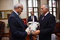 19 MAYIS ÜNİVERSİTESİ - Tekirdağ Büyükşehir Belediyesi Heyeti Başkan Yusuf Yılmaz İle Görüştü
