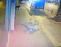 MUHABIR - TRT World Muhabirinin Beşinci Kattan Düşme Anı Kamerada