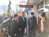 İRFAN BALKANLıOĞLU - Vali Kılıç Ve Balkanlıoğlu, Esnafı Ziyaret Etti