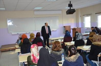 YÖK Başkanı Harran Üniversitesi'nde ders verdi