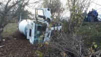 ÇAYDEĞIRMENI - Zonguldak'ta Trafik Kazası Açıklaması 1 Yaralı