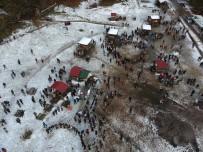 KUZEY YILDIZI - Abant'ta Binlerce Öğrenci Hamsi Festivali'nde Buluştu