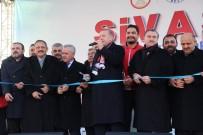 YÜKSEK HıZLı TREN - Cumhurbaşkanı Erdoğan, Sivas'ta (2)