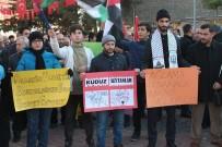 ELAZıĞ ÖĞRETMENEVI - Elazığ'dan Trump'a Tepkiler Sürüyor