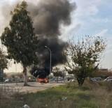 ATAKENT - Hareket Halindeki Otomobil Yandı