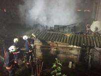 SARMAŞıK - İstanbul'da Korkutan Yangın
