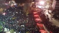 Malatya'da Binlerce Vatandaş Kudüs İçin Yürüdü