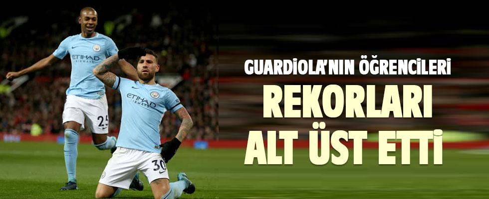 Manchester City, Premier Lig rekorunu kırdı!