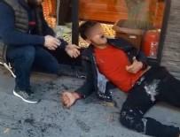 UYUŞTURUCU KRİZİ - İstanbul'da 'bonzai' krizleri kamerada