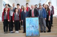 RESIM SERGISI - Serginin Geliri Şehit Çocuklarına Bağışlandı
