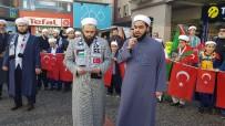 SELAHADDIN EYYUBI - Uluçınar Derneği'nden 'Kudüs' Protestosu