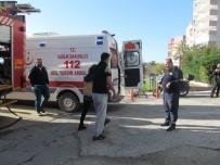 PİRİ REİS - 10 Katlı Binada Yangın Çıktı Mahsur Kalanları İtfaiye Merdivenle Kurtardı