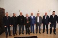 SAKARYA VALİSİ - 20. Meslek Komitesinden Vali Balkanlıoğlu'na Ziyaret