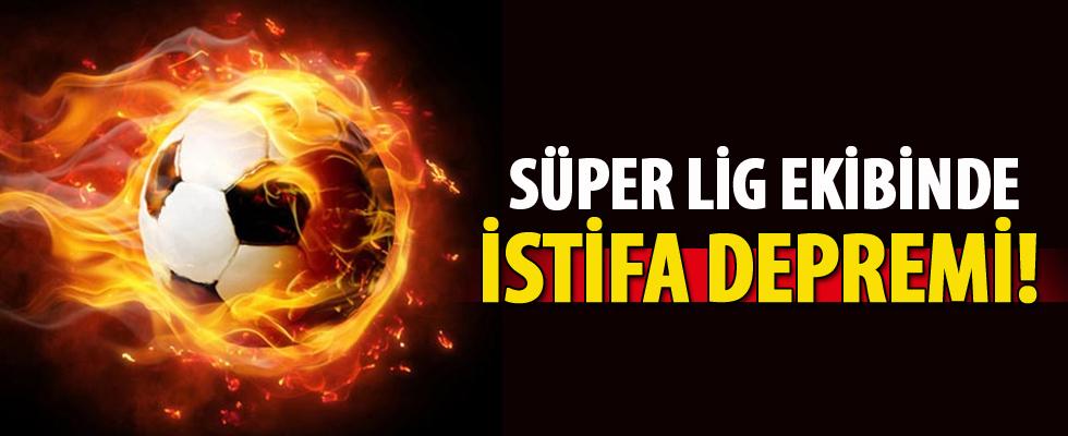 Süper Lig ekibinde istifa depremi