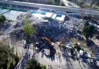 BÜLENT KERIMOĞLU - Bakırköy'deki Ölümüne Yıkım Havadan Görüntülendi