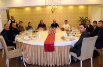 BAŞTÜRK - Başhekim Baştürk'e Veda Yemeği
