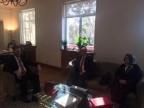PEKIN - Başkan Çiftçi'den Pekin Büyükelçisi Önen'e Ziyaret